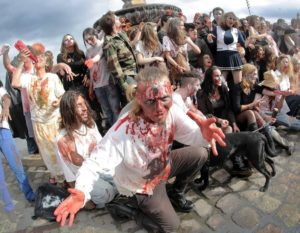 zombie walk bordeaux 2018