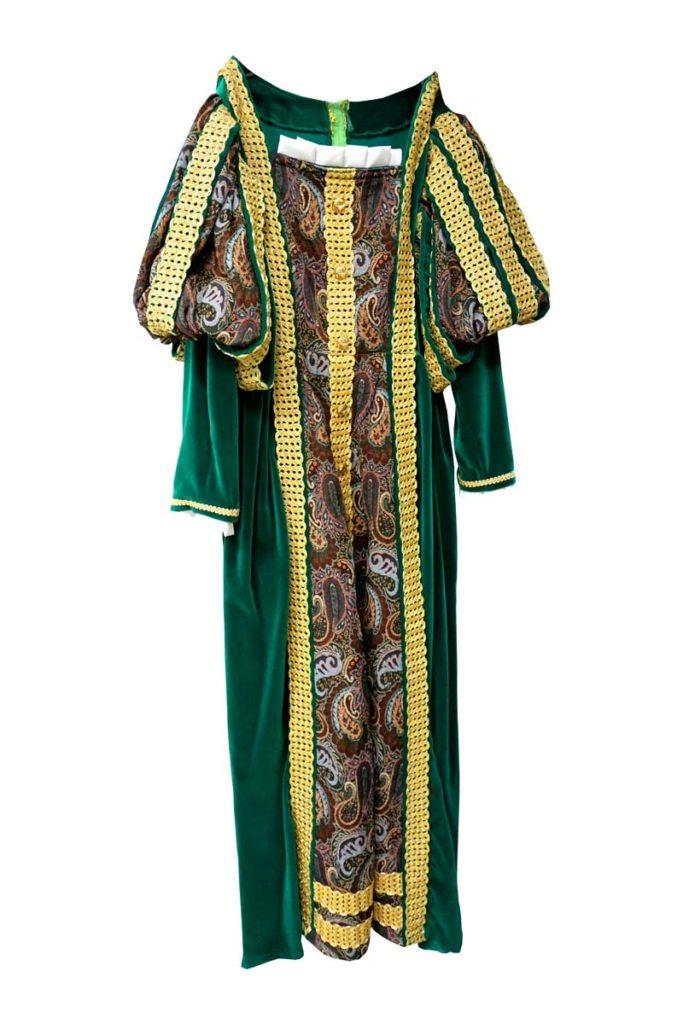 robe déguisement location bordeaux reine médiévale