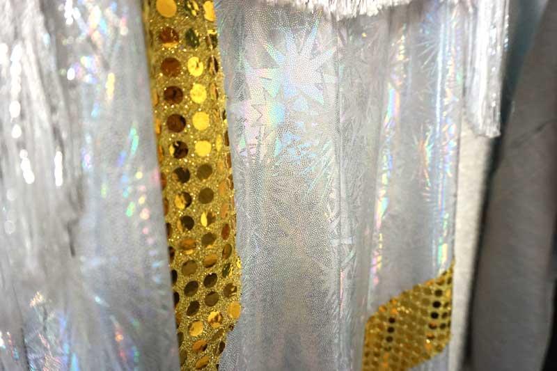 détails costume ABBA