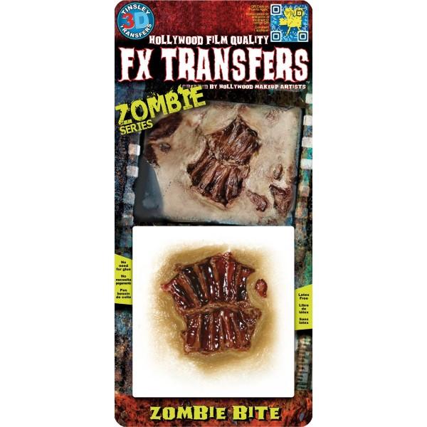 morsure zombie prothèse